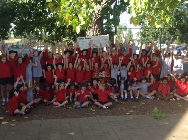 Winners of the 2015 Primary School Challenge